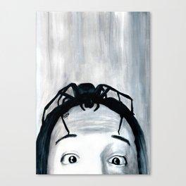 It Keeps Climbing Out The Spout Canvas Print