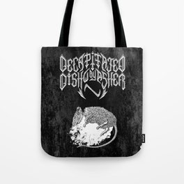 Decapitated by dishwasher II (black) Tote Bag