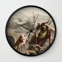 The travellers  Wall Clock