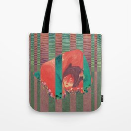 Trapped inside Tote Bag