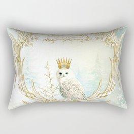 Owl Let it Snow Rectangular Pillow