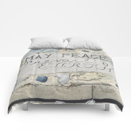 May Peace Prevail on Earth Comforters