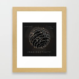 Radioactivity Framed Art Print