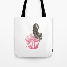 Muffin Monkey Tote Bag