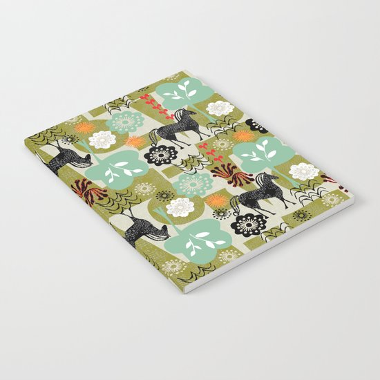 magical horse garden Notebook