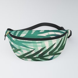 Emerald Forest Weekend - Nature Watercolor Fanny Pack
