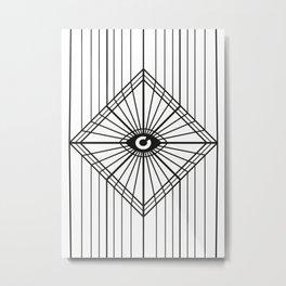 Dark Eye Metal Print