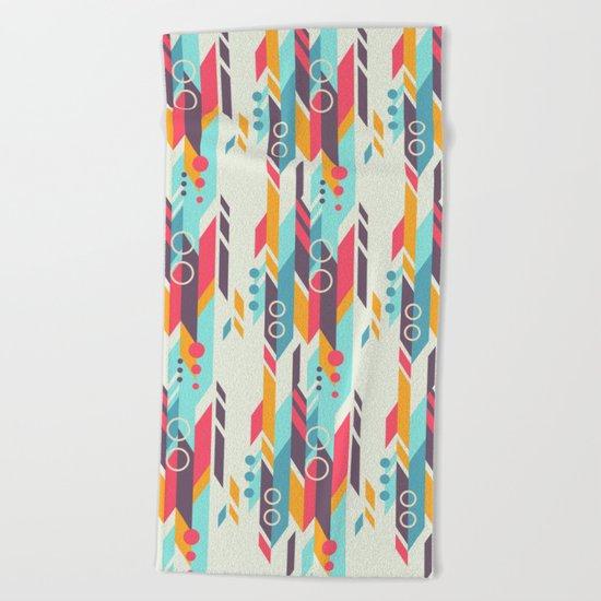 Geometri pattern Beach Towel