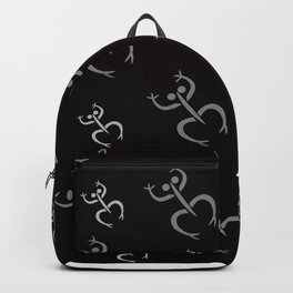 Coqui Taino Puerto Rican Petroglyph Backpack