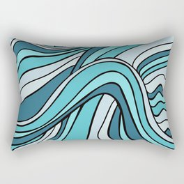 Ocean Waves Of Chaos Rectangular Pillow