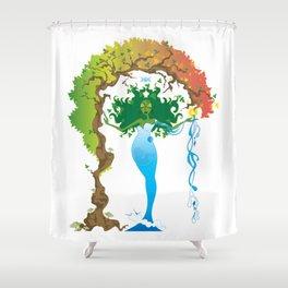 Gaea Shower Curtain