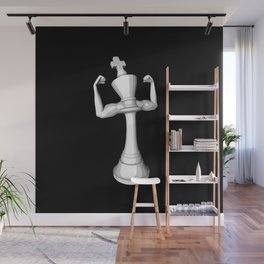 The White King Wall Mural