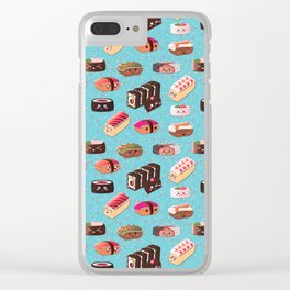 Doughnut Like Sushi Clear iPhone Case