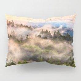Coastal Fog Over Mount Tamalpais Pillow Sham