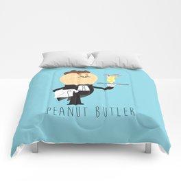 Peanut Butler Comforters