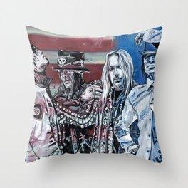 Motley Crue Throw Pillow