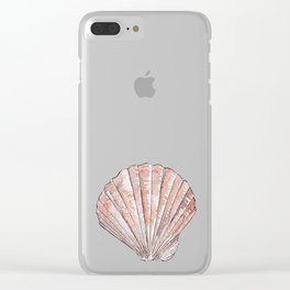Seashell #3 Clear iPhone Case