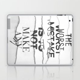 The Worst Mistake Laptop & iPad Skin