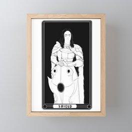 Shield Framed Mini Art Print