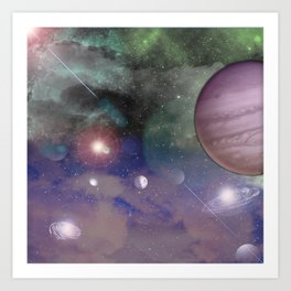 Galatic Art Print