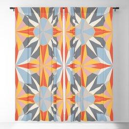 Solar kaleidoscope Blackout Curtain