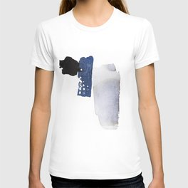 Navy Blue Abstract T-shirt