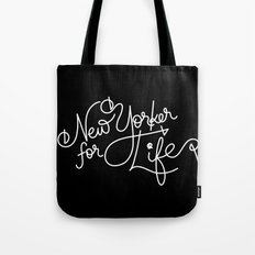 New Yorker For Life Tote Bag