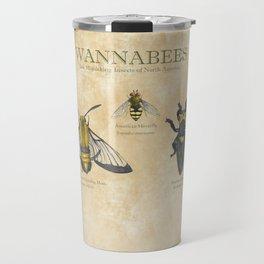 wannabees: Bee Mimicking Inects Travel Mug