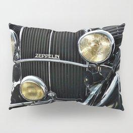 1930's Era German Zeppelin Vintage Automobile Pillow Sham