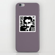 QR- Groucho iPhone & iPod Skin