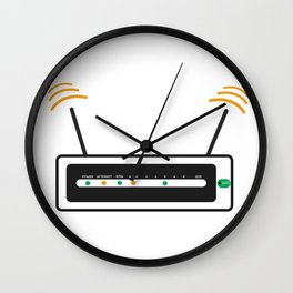 Router Wall Clock