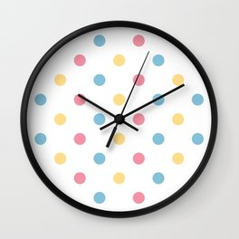 Vintage dots edition : 60S Wall Clock