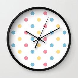 Vintage dots edition : 60S Wall Clock