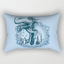 T-Rex Coffee Boss Rectangular Pillow