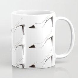 Black & White shoes Coffee Mug