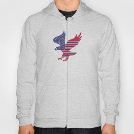 American Flag Eagle Hoody