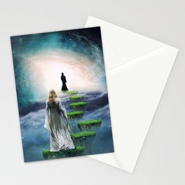 Journey to Happiness Stationery Cards