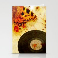 moth Stationery Cards featuring moth by Markus Breitbach