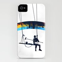 Paint it Black Slim Case iPhone (4, 4s)