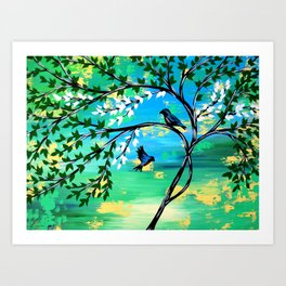 Getting to Know You Art Print