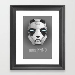 ironPAND Framed Art Print
