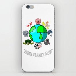 Animal's Planet iPhone Skin