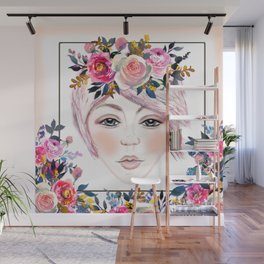 Pretty in Pink Wall Mural