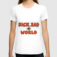 daria T-shirts featuring Daria Sick and sad world by Komrod