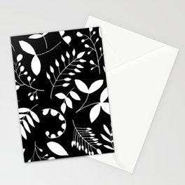 Laurels - Black & White Stationery Cards