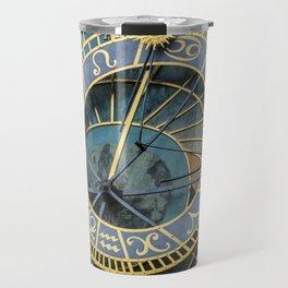 Prague Astronomic Clock Travel Mug