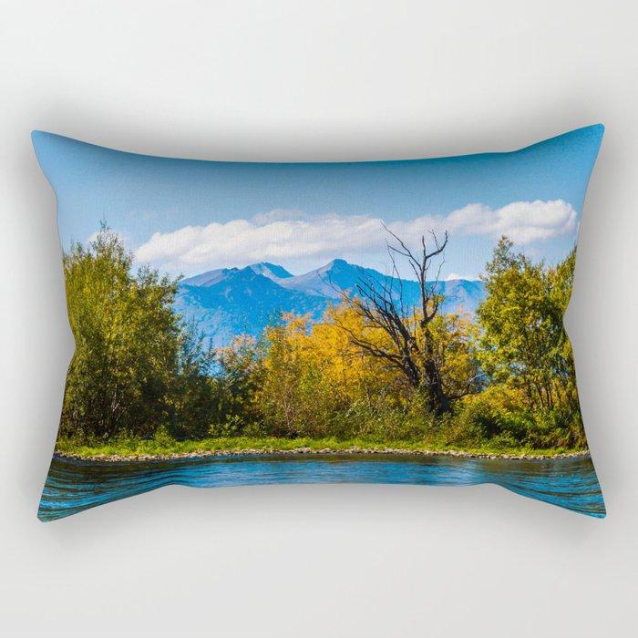 Autumn in Kamchatka Rectangular Pillow
