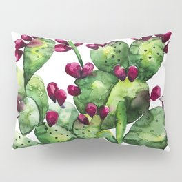 Prickly, Prickly Pear Cactus Pillow Sham