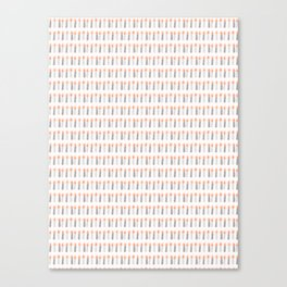 Light a Candle Design Canvas Print