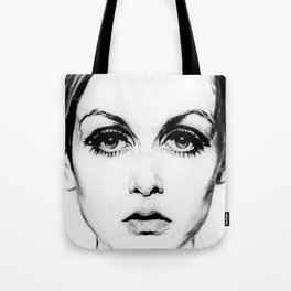 60's Eyelashes Tote Bag